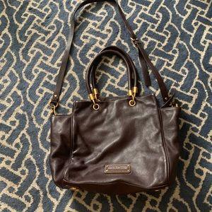 Marc by Marc Jacobs brown top satchel bag shoulder